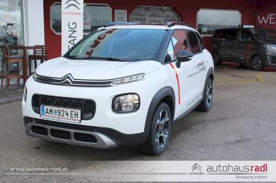 Citroën C3 Aircross PureTech 130 S&S 6-Gang-Manuell Shine bei Gebrauchtwagen, Neuwagen, Jungwagen – Autohaus Radl – Amstetten – Niederösterreich in Ihre Fahrzeugfamilie