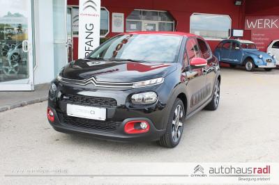 Citroën C3 PureTech 110 S&S 5-Gang-Manuell Shine bei BM || Autohaus Radl in