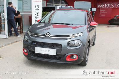 Citroën C3 PureTech 110 S&S 6-Gang Shine Shine bei Gebrauchtwagen, Neuwagen, Jungwagen – Autohaus Radl – Amstetten – Niederösterreich in Ihre Fahrzeugfamilie