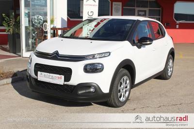 Citroën C3 PureTech 68 5-Gang-Manuell Live bei BM || Autohaus Radl in