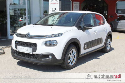 Citroën C3 PureTech 68 5-Gang-Manuell Feel bei BM || Autohaus Radl in