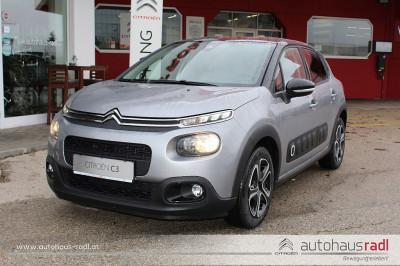 Citroën C3 PureTech 82 5-Gang-Manuell Shine bei BM || Autohaus Radl in