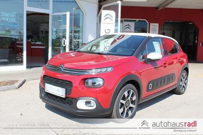 Citroën C3 PureTech 110 S&S 6-Gang-Manuell Shine bei BM || Autohaus Radl in